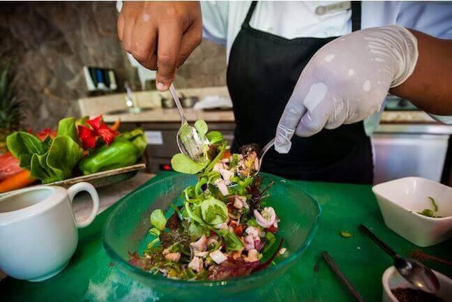 Ricetta delle Seychelles, insalata creola di polpo