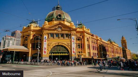 Stazione di Melbourne, Victoria, Australia