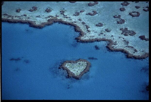 Grande Barriera Corallina Australia - Heart Reeef