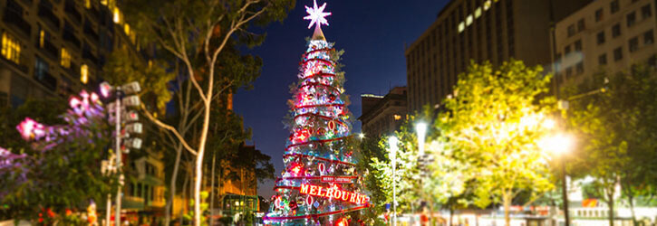 Natale in Australia, Melbourne