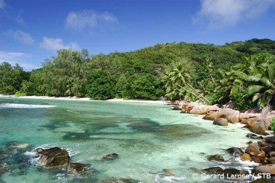 Spiaggia Anse Severe, La Digue, Seychelles