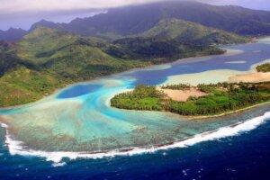 Laguna di Huahine, Polinesia Francese