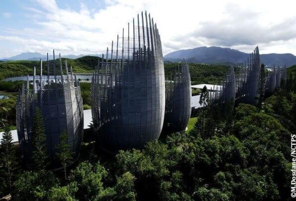 Centro culturale Tjibaou, Grande Terre, Nuova Caledonia