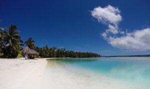 La Laguna di Rarotonga, Isole Cook.