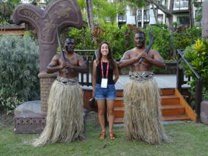 La nostra Elena alle Fiji