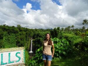 Elena_Sopoaga Waterfall_Samoa_Kiaoraviaggi