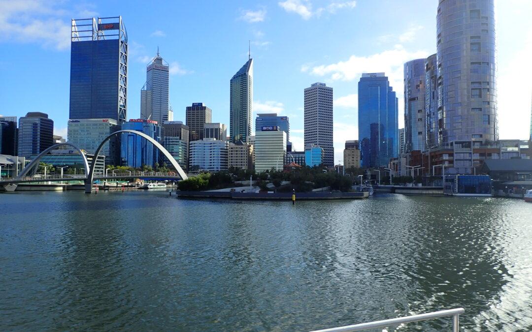 Irene racconta Perth, città più vicina all'Europa e più remota dell'Australia