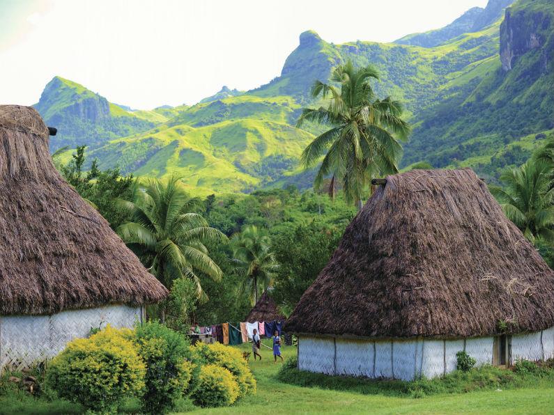 villaggio fijiano