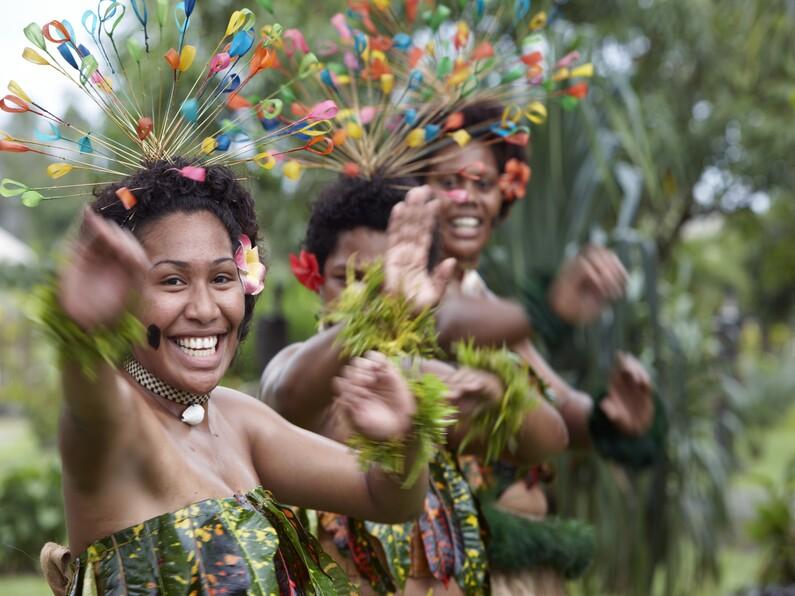 Isole Fiji Danza Meke