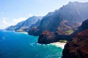 Hawaii Kauai Napali coast