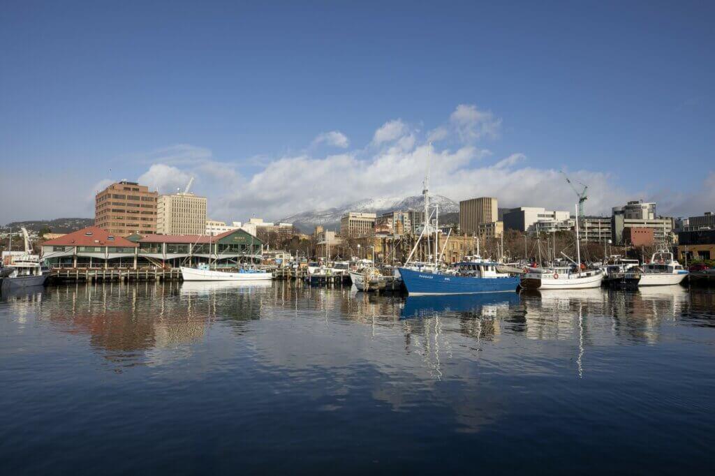 Constitution Dock Hobart Tasmania Australia