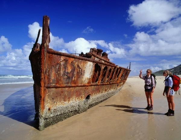 Australia Fraser Island relitto Queensland