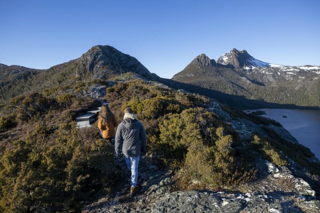 Australia Tasmania Cradle Mountain trekking